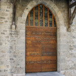 Porte Sainte à Saint-Maurice