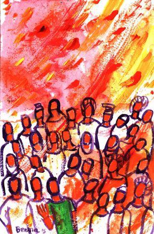 Adèle nous invite à nous préparer à la Pentecôte